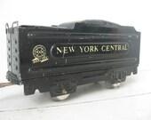 1940's Marx Tin Train Coal Car, New York Central Line