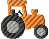 Tractor Machine Embroidery Mini Design