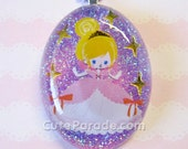 All That Glitters Princess Resin Necklace Kawaii Fairy Kei Lolita