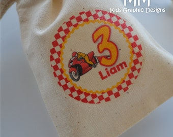 24 Muslin Favor Bags - 4x6inch - Birthday- Baby Shower - Thank You