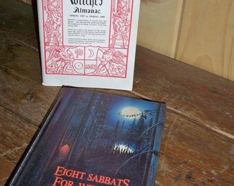 Wiccan VinTage Books Set of 2- Collectibles