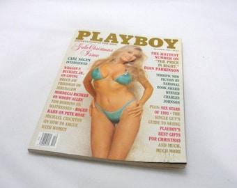 Vintage Playboy magazine December 1991