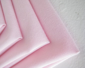Cloth Napkins - Blush - 100% Cotton