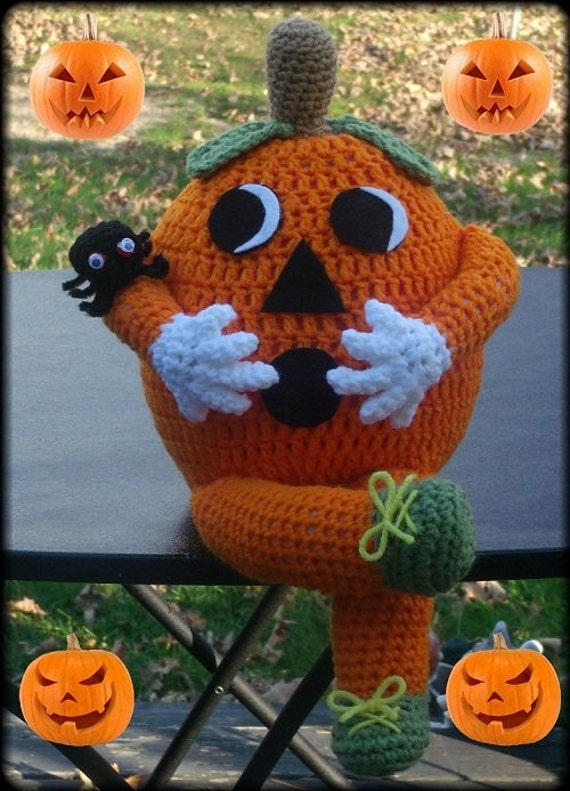 Halloween Pumpkin Doll Crochet Pattern