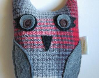 Plush OWL toy - Maggie - children gift woodland - stocking stuffer