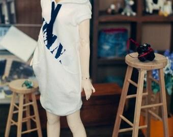 SD 13 girl Onepiece Hoody