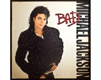 Glittered Michael Jackson Bad Album