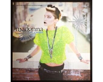 Glittered Madonna Like a Virgin Single