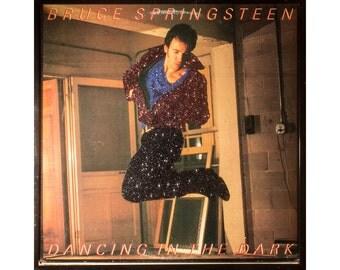 Glittered Bruce Springsteen Dancing in the Dark Album