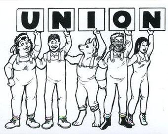 Union Group bumper sticker