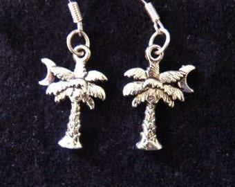 Palmetto Tree Earrings