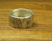 Just Be - Recycled Silver Ring