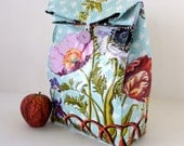 Reversible Garden Gate Lunch Bag with Handle