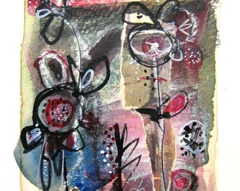Modern Contemporary Art Abstract Original Painting Abstract Series by Julie Steiner