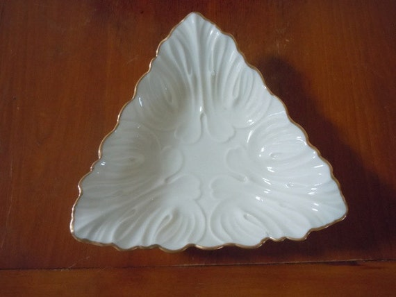 Lenox Wedding Gifts: Lenox Vintage Triangle Dish Candy Dish Nut Dish Home By