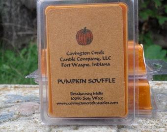 Pumpkin Souffle  Pure Soy Covington Creek Candle Company  Breakaway Melt