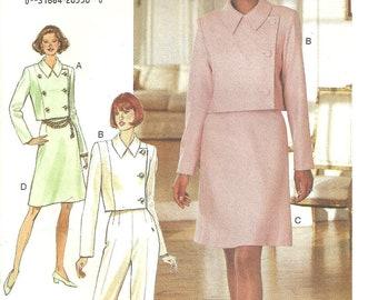 Butterick 3763 Jacket Skirt Pants sz 16 jacket cut on 12 1994 Pattern