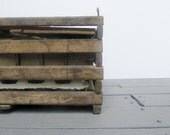 Vintage Wood Egg Crate - Modred12