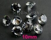 AAAAA 10mm Runde Zirkonia CZ lose Steine Diamant Brillant Schliff - Diamond-4ST