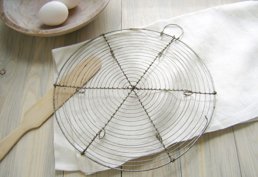 Vintage Cooling Rack French Wire Baking By Stilllifestyle