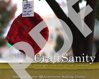 CraftSanity Magazine Issue 1 PDF Edition