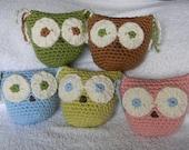 Amelia Owl - Organic Cotton - Pick your color