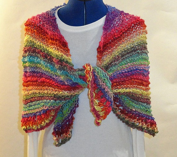 Knitting Patterns For Circular Shawls : Knitting Pattern Knit Prayer Shawl Pattern by KimberleesKorner