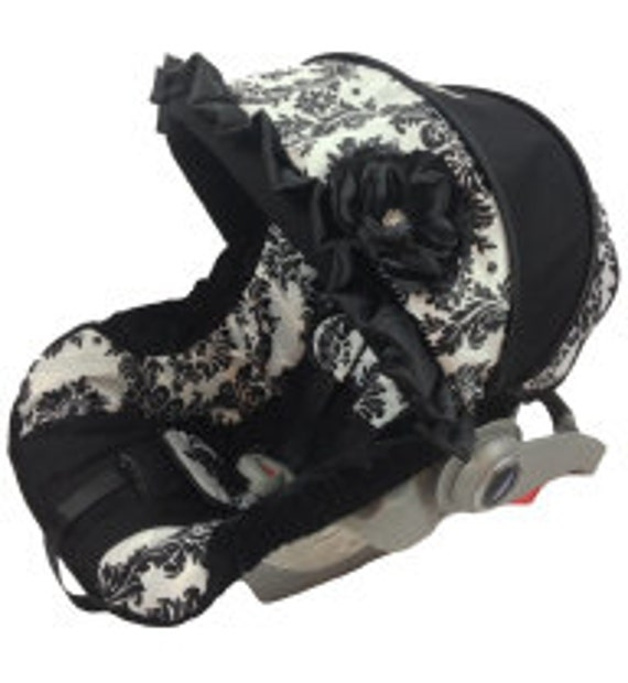 items similar to custom infant car seat cover graco snugride graco snugride 35 chico keyfit. Black Bedroom Furniture Sets. Home Design Ideas