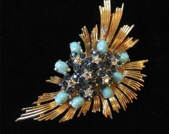 Boucher Fur Clip, Signed, Design Number 7141