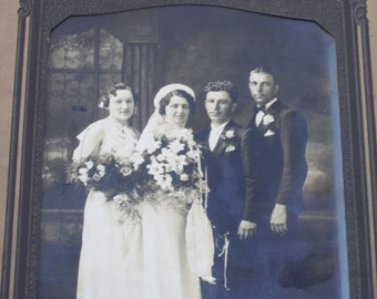 Vintage Wedding Cabinet Photograph