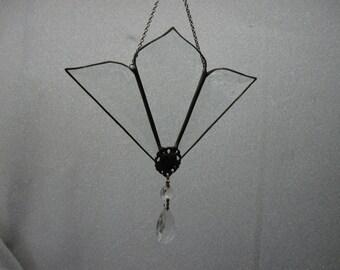 Beveled Glass Victorian Style Suncatcher
