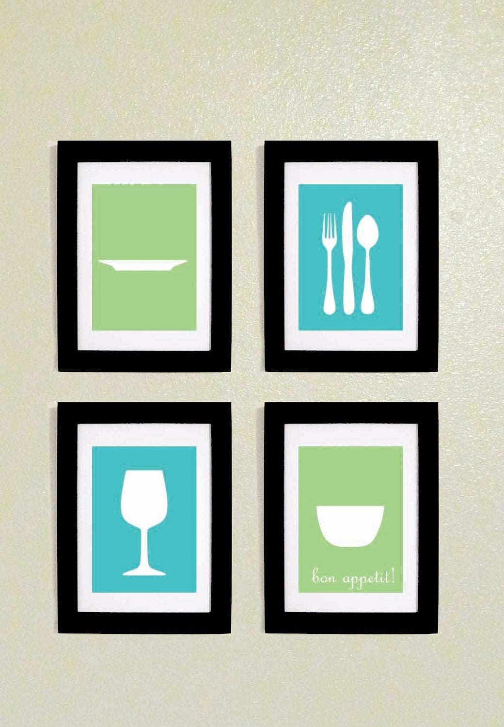 Kitchen Wall Art Printables 5x7