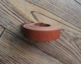 Strap, Long 213cm, RedBrown 18mm width, U3331