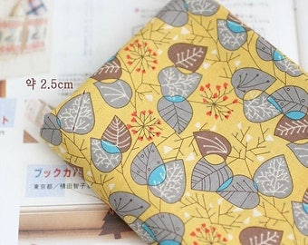 Leaves on Yellow cotton, U3334