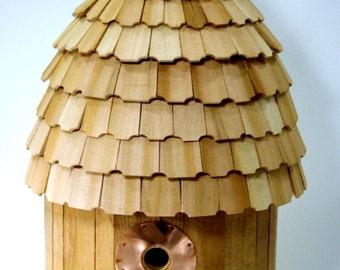 Half-Round Wren Birdhouse