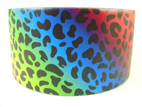 Rainbow Leopard Duct Tape - One Roll of Printed Tape from rue21