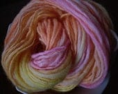 Peaches & Cream Handspun Yarn Merino Wool 60 yards