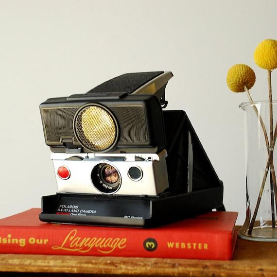 Polaroid SX-70 BC Series Sonar Autofocus Camera - Working