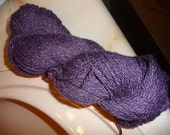 CLEARANCE- Cashmere/Wool/Silk- Handspun Hand Dyed- 2ply Worsted weight Yarn