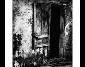Broken-Door 12 X 16 Fine Art Print