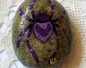Purple Spider Rock Art