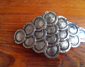 Silver Metal Belt Buckle