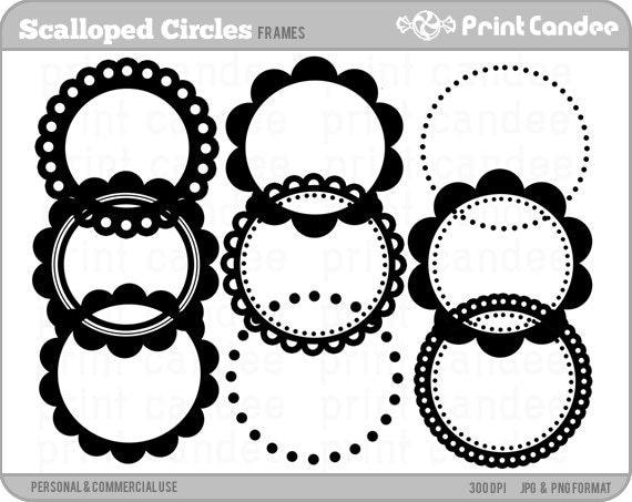 Circle Frame Clip Art Frames Clip Art