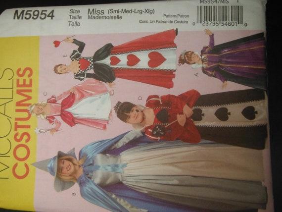 Halloween Costumes--Multi Kids UNCUT Patterns n sizes 3-8