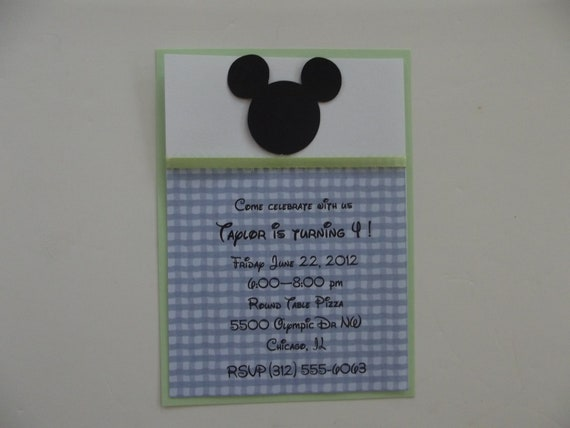 blank mickey mouse baby shower invitations mickey mouse inspired
