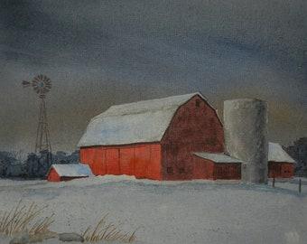 Marvin Hartley's Farm on Canvas