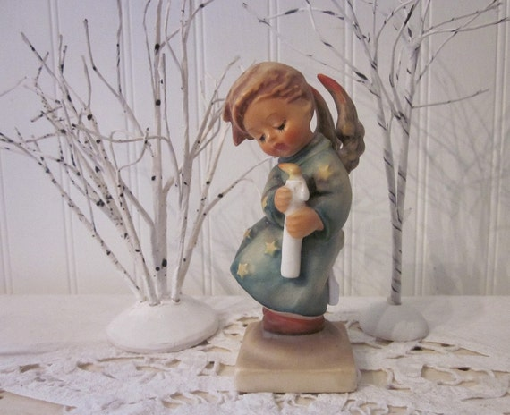 vintage 'Heavenly Angel' Hummel figurine, W. Germany, collectible