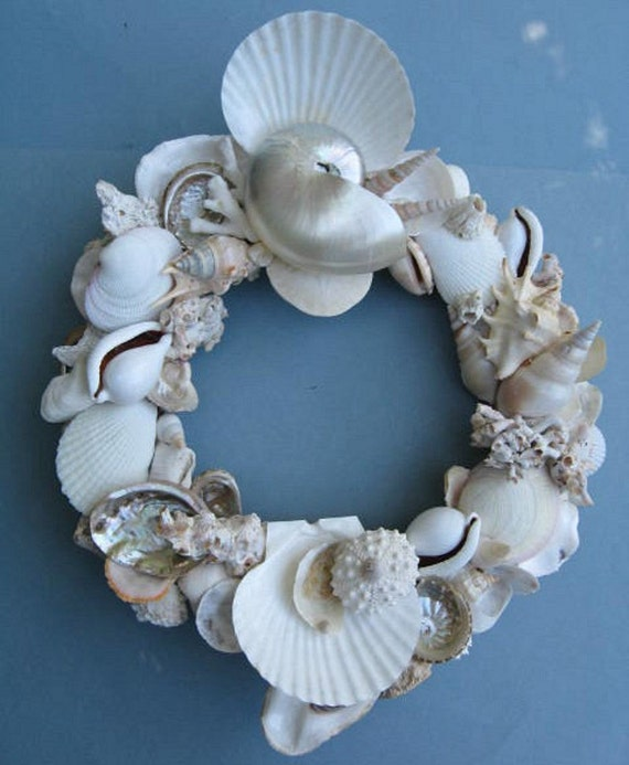 White Shell Wreath (SW34)
