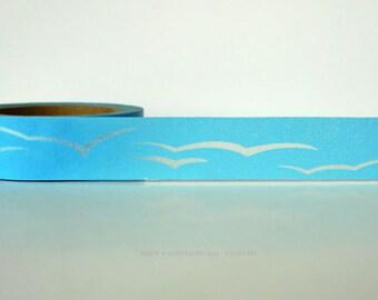 Sky Washi Tape Blue Sky Seagull