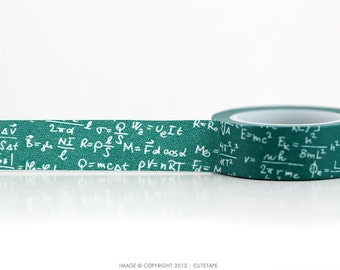 Physics Formula Washi Tape Math Geekery